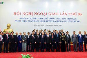 Toàn cảnh Hội nghị Ngoại giao lần thứ 30 tại Hà Nội