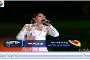 Nghe lại ca khúc 'Meraih Bintang' tại lễ khai ASIAD 2018
