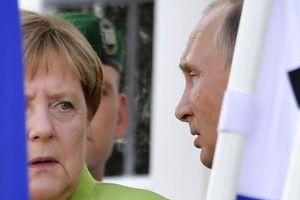 3 tiếng thảo luận về Syria, Ukraine giữa ông Putin và bà Merkel