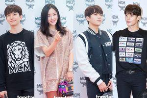 Ngắm loạt ảnh 'đẹp khó cưỡng' của L (INFINITE), Junho (2PM) cùng Hyomin (T-ARA) khi đứng cạnh nhau