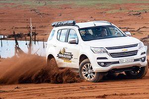 Trải nghiệm Chevrolet Trailblazer giá từ 859 triệu tại Việt Nam