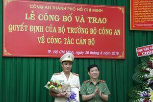 Đại tá Cao Đăng Hưng giữ chức Phó giám đốc Công an TP.HCM