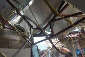 Vụ đứt cẩu tháp dự án The Sun: Tạm đình chỉ dự án