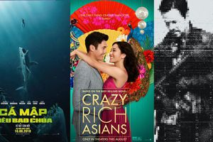 'Crazy Rich Asians' vượt qua 'The Meg', vươn lên dẫn đầu BXH doanh thu Bắc Mỹ tuần này!