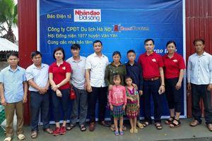 Danh sách các nhà hảo tâm ủng hộ kinh phí dựng nhà cho 3 học sinh dân tộc H'Mông