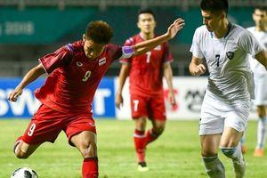 Không thắng nổi 1 trận, Olympic Thái Lan cay đắng chia tay ASIAD