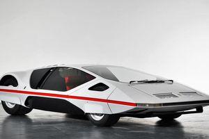 'Đĩa bay' Ferrari 512S Modulo tái xuất sau 50 năm biệt tích