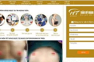 Thẩm mỹ viện Hoàng Tuấn quảng cáo phẫu thuật hút mỡ sai luật?