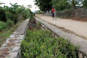 Ninh Thuận: Nghịch lý kênh thủy lợi 'trơ đáy' giữa mùa mưa