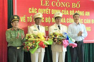 Sáp nhập Cảnh sát PCCC, Đà Nẵng có thêm 2 PGĐ Công an