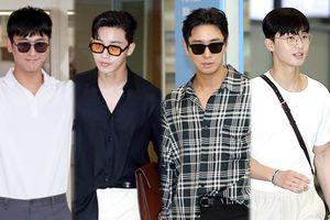 Xuất hiện tại sân bay, Joo Ji Hoon của 'Thử thách thần chết' khiến fan nhầm thành Park Seo Joon