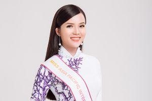 Hoa khôi Thúy Vi dự thi Hoa hậu châu Á-Thái Bình Dương