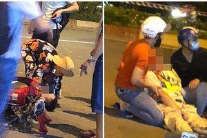 Điều tra vụ CSGT bị người vi phạm tông xe, kéo lê trên đường