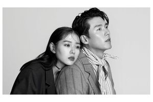 Huyn Bin và Son Ye Jin tình tứ bên nhau trên trang bìa tạp chí thời trang danh tiếng