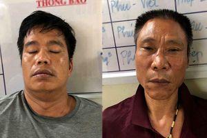 Phục kích tóm gọn 2 đối tượng mang theo súng áp tải gần 10kg ma túy từ Nghệ An ra Hà Nội