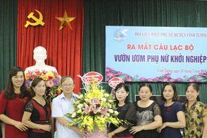 Câu lạc bộ 'Vườn ươm phụ nữ khởi nghiệp' ở Vĩnh Tường