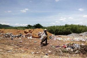 Giải quyết ô nhiễm môi trường tại khu vực bãi rác Nghĩa Kỳ, Quảng Ngãi
