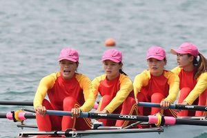 HCV rowing giúp Việt Nam nhảy vọt trên bảng tổng sắp