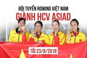 Đội tuyển rowing Việt Nam gửi lời chào độc giả Zing.vn
