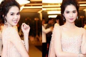 Ngọc Trinh xuất hiện tại Hàn Quốc, đẹp lung linh với đầm đính ngọc trai