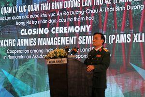Quân đội đóng vai trò quan trọng trong ứng phó các tình huống khẩn cấp khi có thảm họa