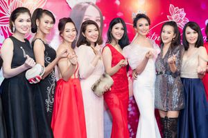 Dàn người đẹp đến mừng Ngọc Diễm kỷ niệm 10 năm đăng quang Hoa hậu Du lịch