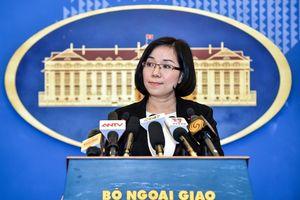 Phản đối Đài Loan tập trận bắn đạn thật ở đảo Ba Bình của Việt Nam