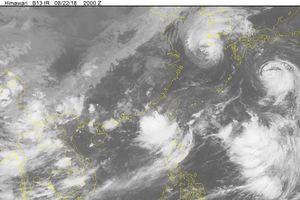 Tin áp thấp nhiệt đới mới nhất hôm nay và dự báo thời tiết ngày 23/8
