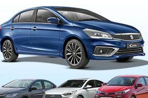 Suzuki Ciaz, Honda City, Hyundai Verna và Toyota Yaris: Mẫu xe nào rẻ nhất?