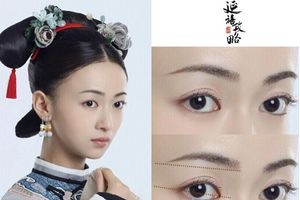 Tính cách nhân vật Diên Hi công lược được tiết lộ qua cặp lông mày