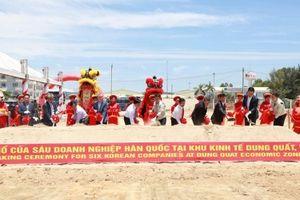 Quảng Ngãi: Đưa vào hoạt động cụm công nghiệp mới tại Khu kinh tế Dung Quất