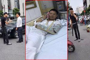 Chưa triệu tập được nam thanh niên dùng điếu cày đánh tài xế ô tô ở Hà Nội