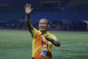 HLV Park Hang Seo cảm ơn học trò sau chiến tích lịch sử của Olympic Việt Nam