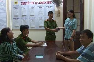 Nhận lại tài sản đánh mất, Việt kiều Mỹ viết thư cảm ơn công an Huế