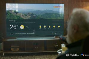 TV LG AI ThinQ kích hoạt Google Assistant sẽ hỗ trợ thêm nhiều ngôn ngữ
