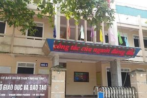 Hà Tĩnh: Không để giáo viên chủ nhiệm thu tiền đóng góp của học sinh