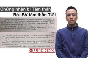 Tình tiết vụ án: Bị cáo hành hung bác sĩ ở Yên Bái có chứng nhận tâm thần của BV Tâm thần TƯ I