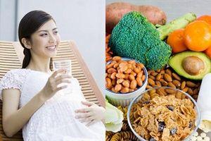 Chế độ dinh dưỡng khi mang thai tuần thứ 13 tốt cho mẹ và bé
