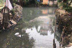 Phường Cổ Nhuế 1 (Hà Nội): Người dân khốn khổ sống cạnh con sông Cầu Đá ô nhiễm