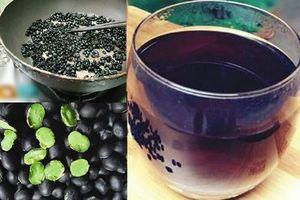 Cách làm trà đậu đen rang ngon dễ uống rất tốt cho sức khỏe