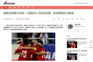 Báo Trung Quốc thừa nhận đội nhà không bằng Olympic Việt Nam