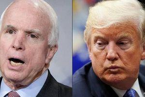 Đằng sau việc nghị sĩ McCain không muốn TT Donald Trump có mặt trong đám tang của ông