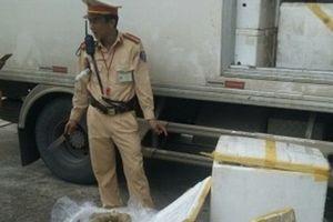 Thanh Hóa: Bắt xe vận chuyển 300 kg thịt đang phân hủy, bốc mùi hôi thối