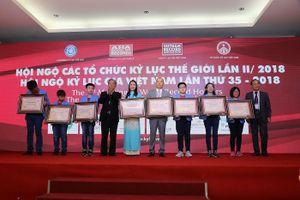 Nhiều kỷ lục mới được xác lập tại Hội ngộ kỷ lục gia Việt Nam