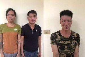 Thanh Hóa: Bắt 3 đối tượng gây ra hàng loạt vụ trộm cắp