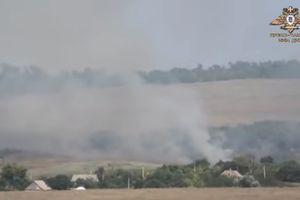 Chiến sự Ukraine: Quân Kiev liên tục bắn phá Donesk, cháy nổ bùng phát trên giới tuyến Donbass