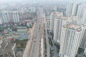 Hơn 2,5km cầu cạn Mai Dịch - Nam Thăng Long vướng mặt bằng