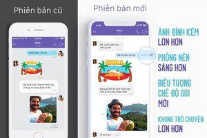 Viber cải tiến giao diện trò chuyện mới, nhanh hơn và đẹp hơn