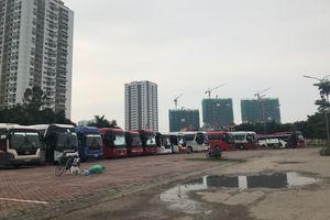 Quận Tây Hồ (Hà Nội): Dự án chậm tiến độ trở thành bãi xe trái phép