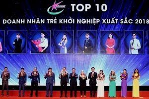 Vinh danh 10 Doanh nhân trẻ khởi nghiệp xuất sắc 2018